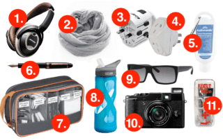 11 Things I need in my Day pack